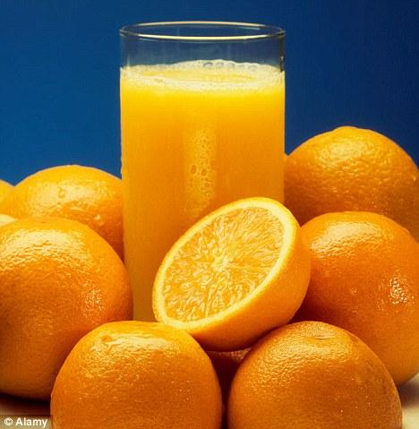 Fresh de portocale și UPU